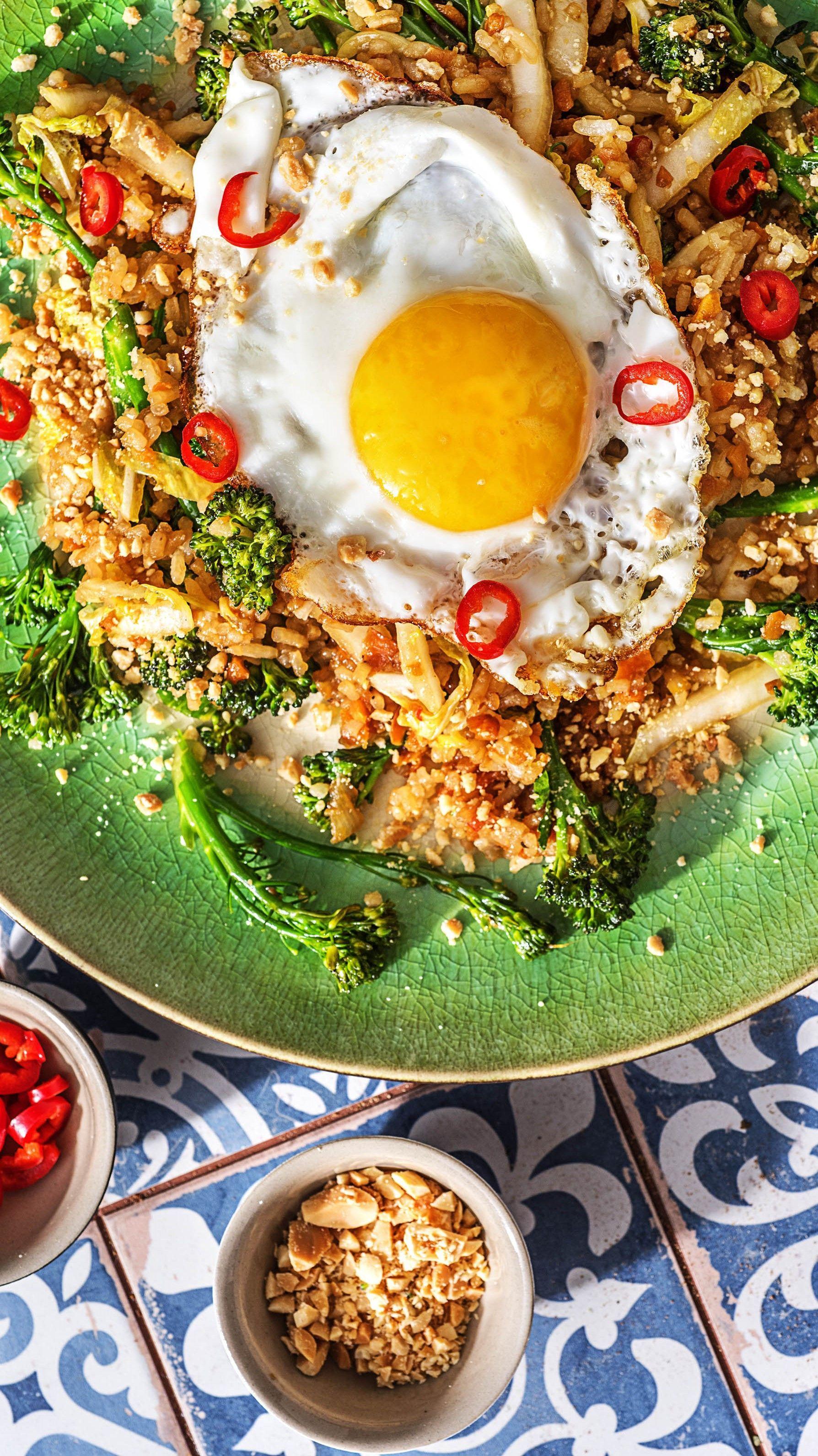 Nasi Goreng! Indonesisches Reisgericht Rezept | HelloFresh
