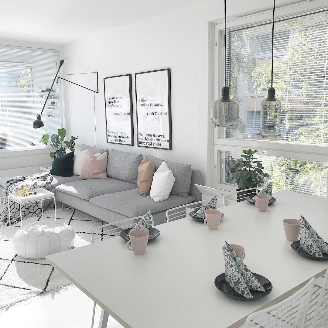 Livingroom Sofa Grey Ikea Söderhamn AllisprettyAndyWarhol ...