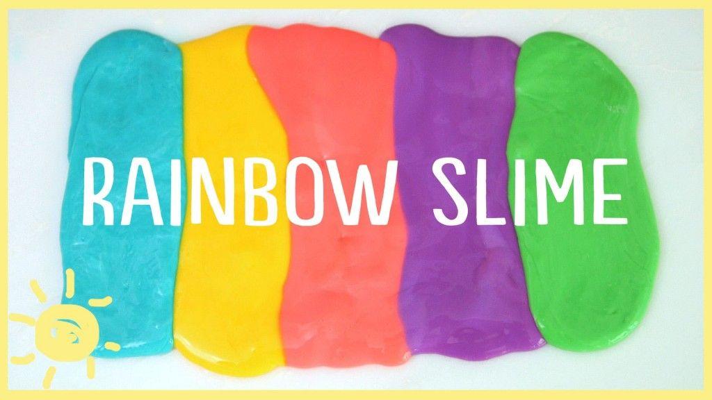 Diy Rainbow Slime Whats Up Moms How To Make Slime