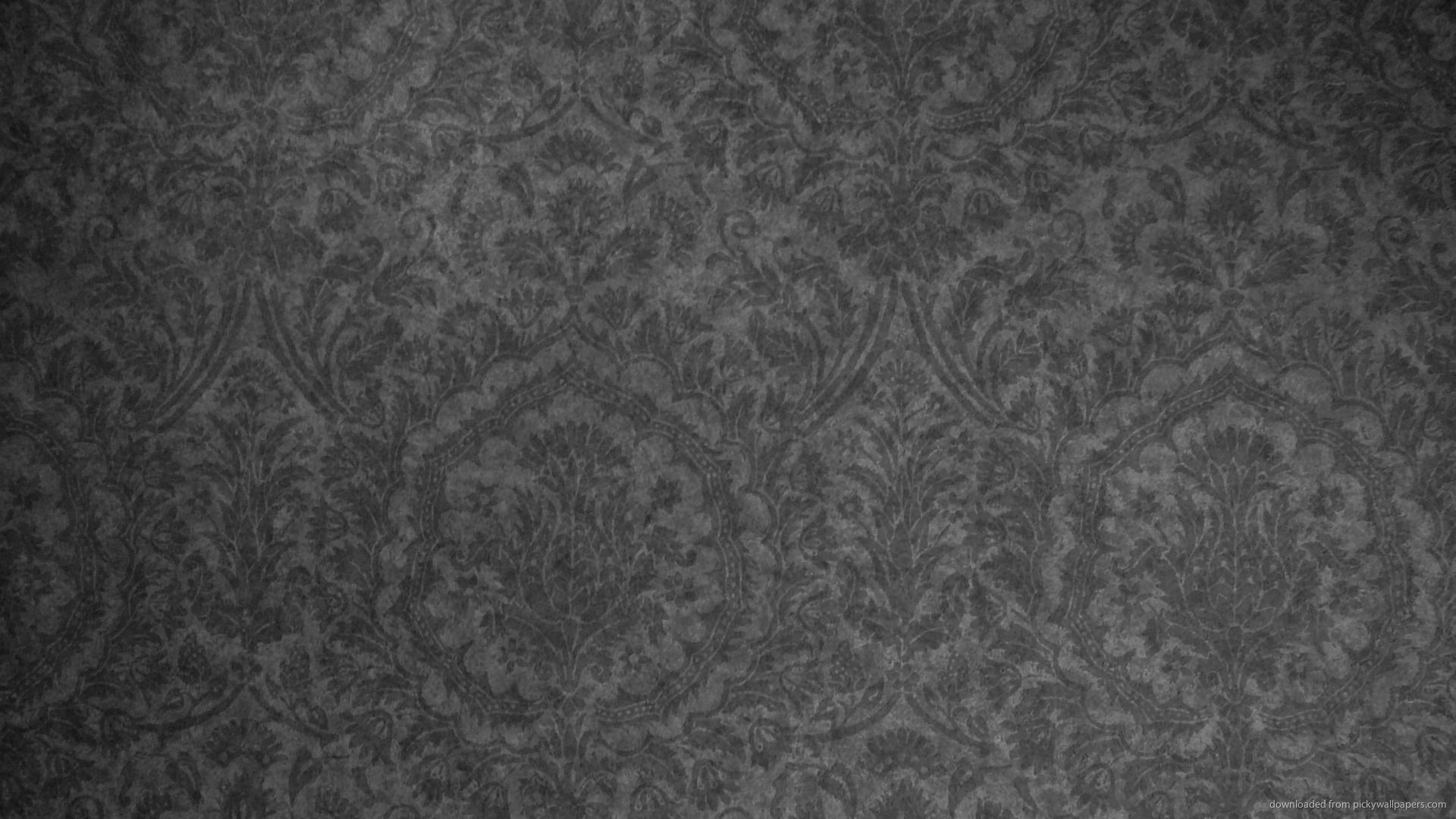 Pin By Nan Edwards On My Wedding Damask Wallpaper Dark Grey Wallpaper Grey Wallpaper