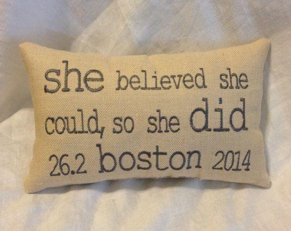 I have this quote tattooed on my hip! Love it!! Marathon Runners' Momento  Boston Marathon  NYC by EmmaLemmaLou, $24.00