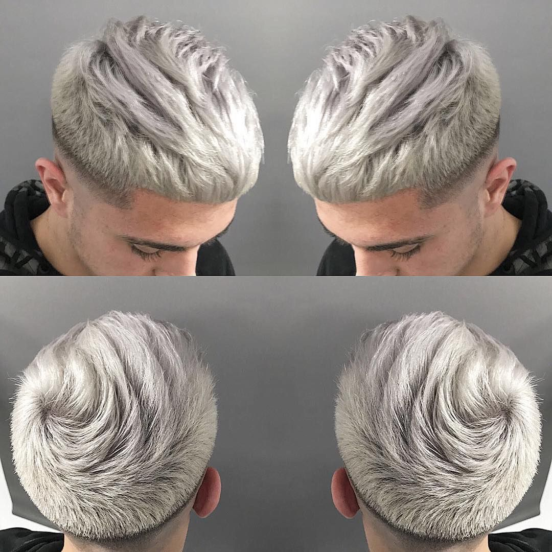 aesthetic guys haircuts with blonde hair find your styles here