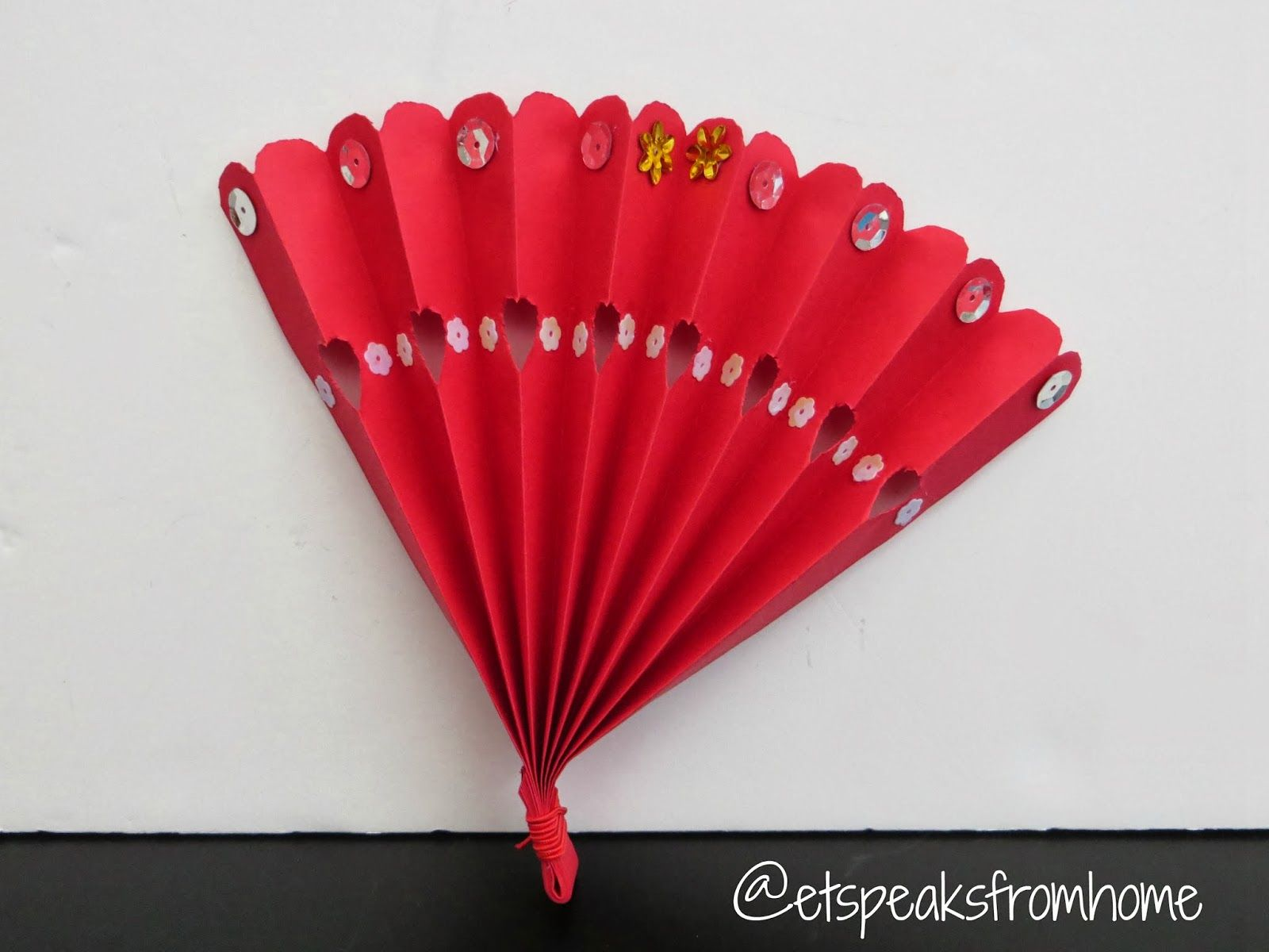Lunar new year crafts - Chinese New Year Fan