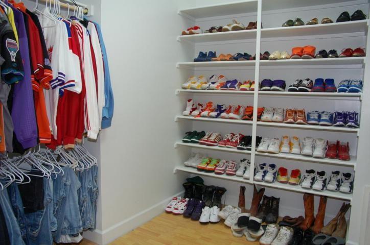 Captivating Sneaker Closet!
