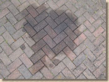 Remove Oil Stains Brick Paving