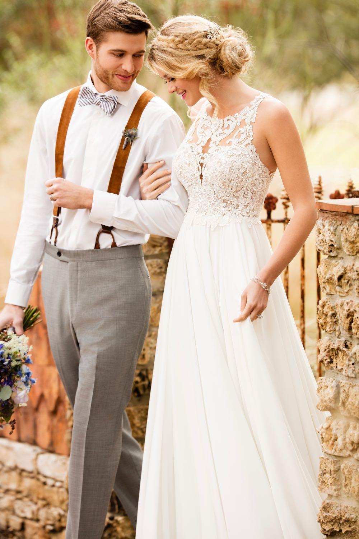 Hochzeitskleider - wunderschöne Bilder-Galerie & Brautkleider-Trends #lacechiffon