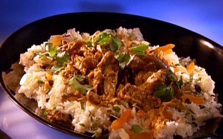 Taj maholla! chicken in 60 mins by Guy Fieri   Curry Professional recipe   Foodnetwork.co.uk