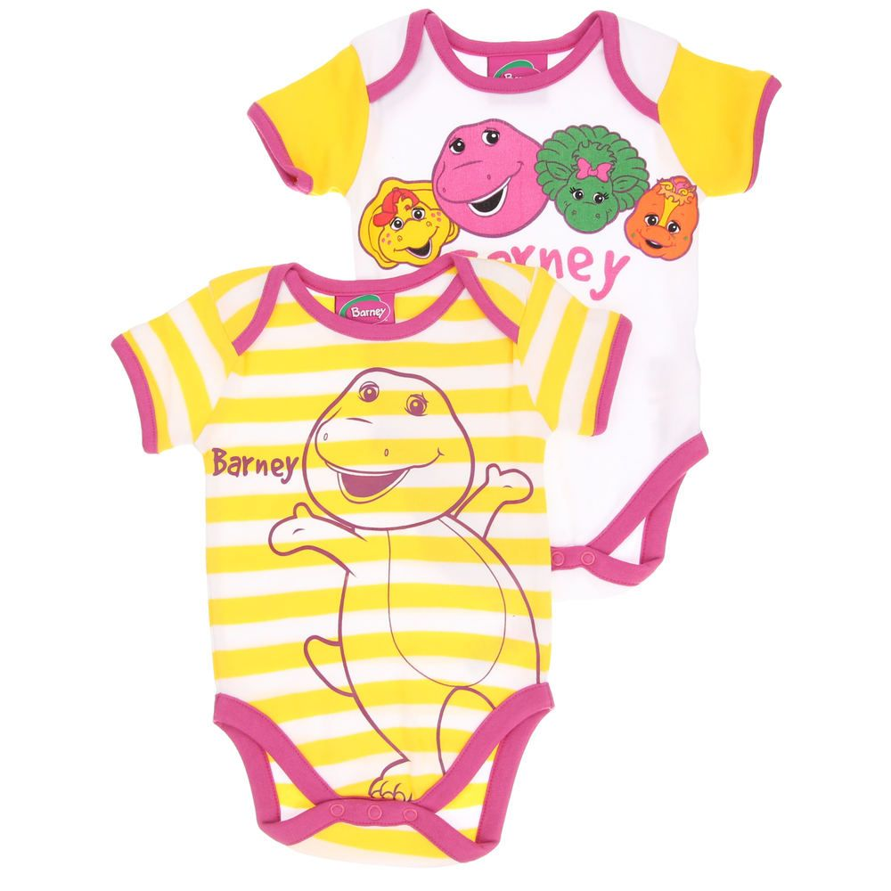 Barney Baby-Mädchen Body