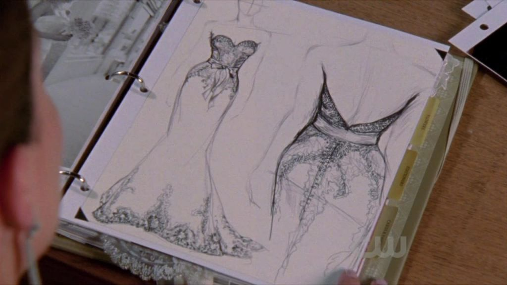 Brooke Davis from One Tree Hill designed this wedding dress. This ...