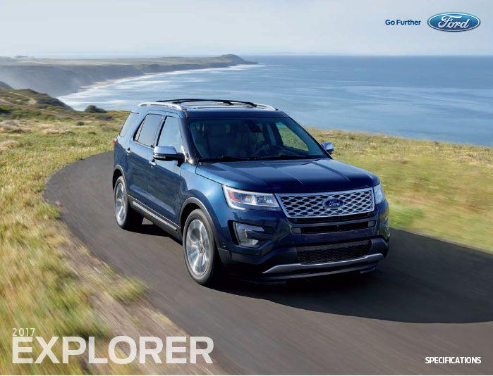 2017 Ford Explorer Downloadable Brochure From Velde Ford Pekin