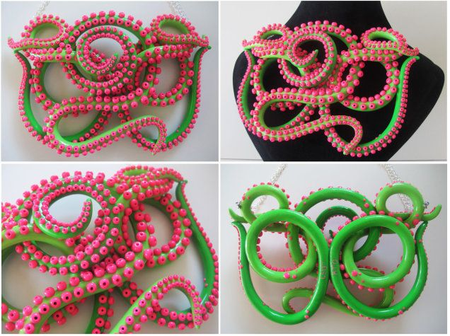 Do Want: Handmade Octopus Tentacle Jewelry