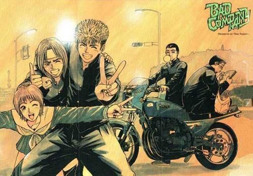 Bad Company The Early Years Of Onizuka S Life With His Oldest Friends I Enjoyed This Manga Even If Is To Great Teacher Onizuka Old Friends Aesthetic Anime