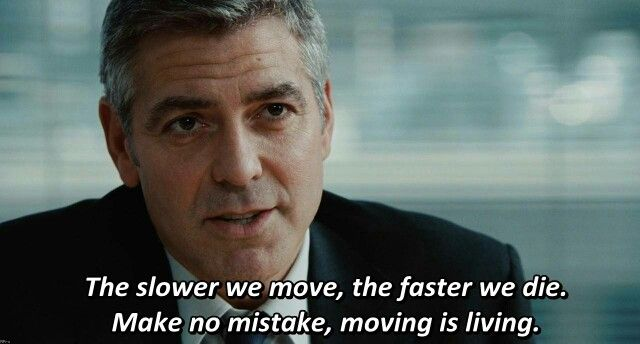 Make No Mistake Moving Is Living George Clooney Up In The Air
