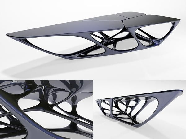 Modeling The Mesa Table Viscorbel Support For 3d Artists Pearltrees Organic Shape Design 3ds Max Design Zaha Hadid