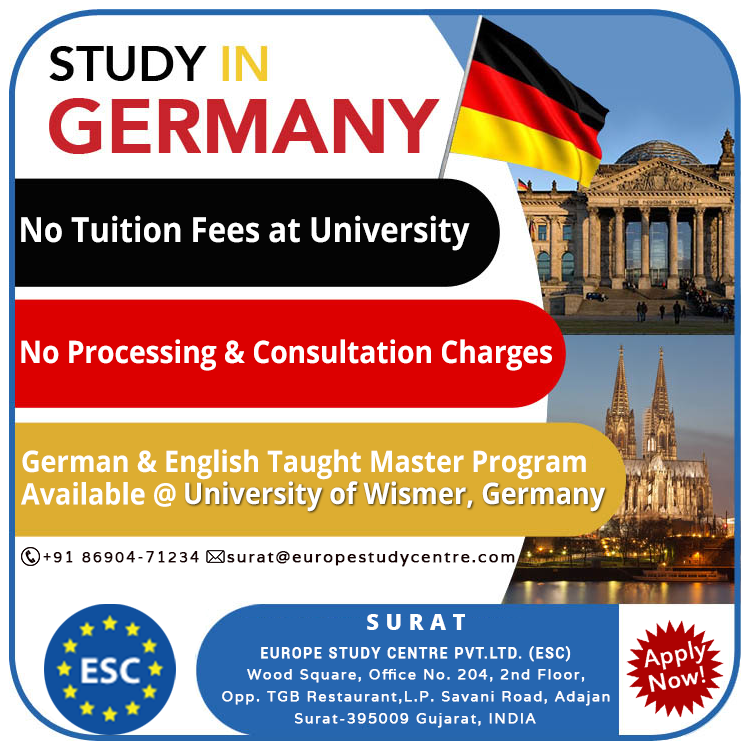 free masters in germany in english
