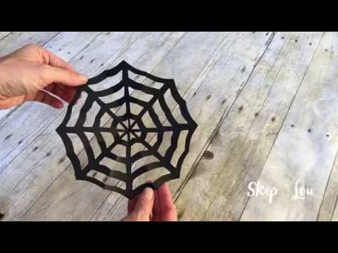 Halloween Craft - Popsicle Spider Web - Popsicle Stick Crafts - how to make halloween decorations youtube