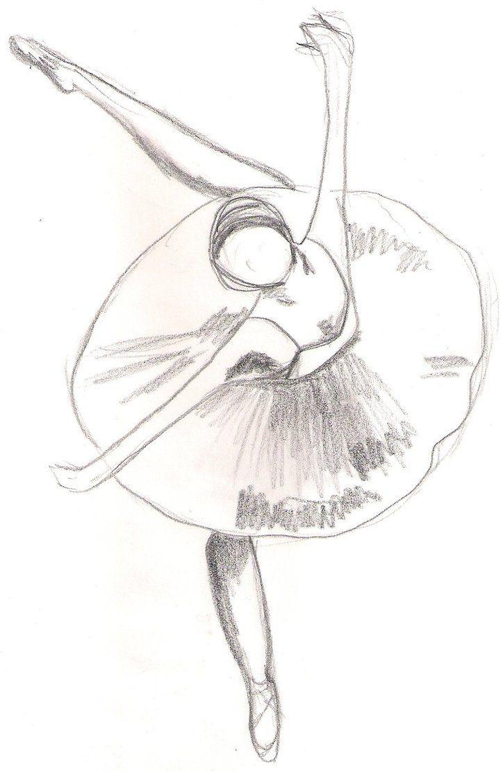Ballerina Sketch By Superkiwi496 On Deviantart Ballet Drawings Ballerina Sketch Dancing Drawings