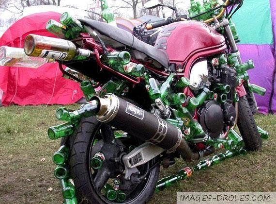 Moto a 3 roues image dr le records voitures et motos du - Image drole de motard ...
