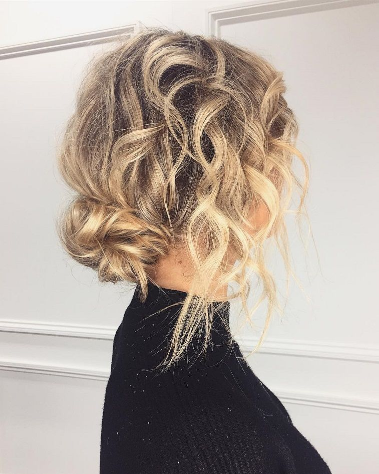 Pretty updo hairstyle