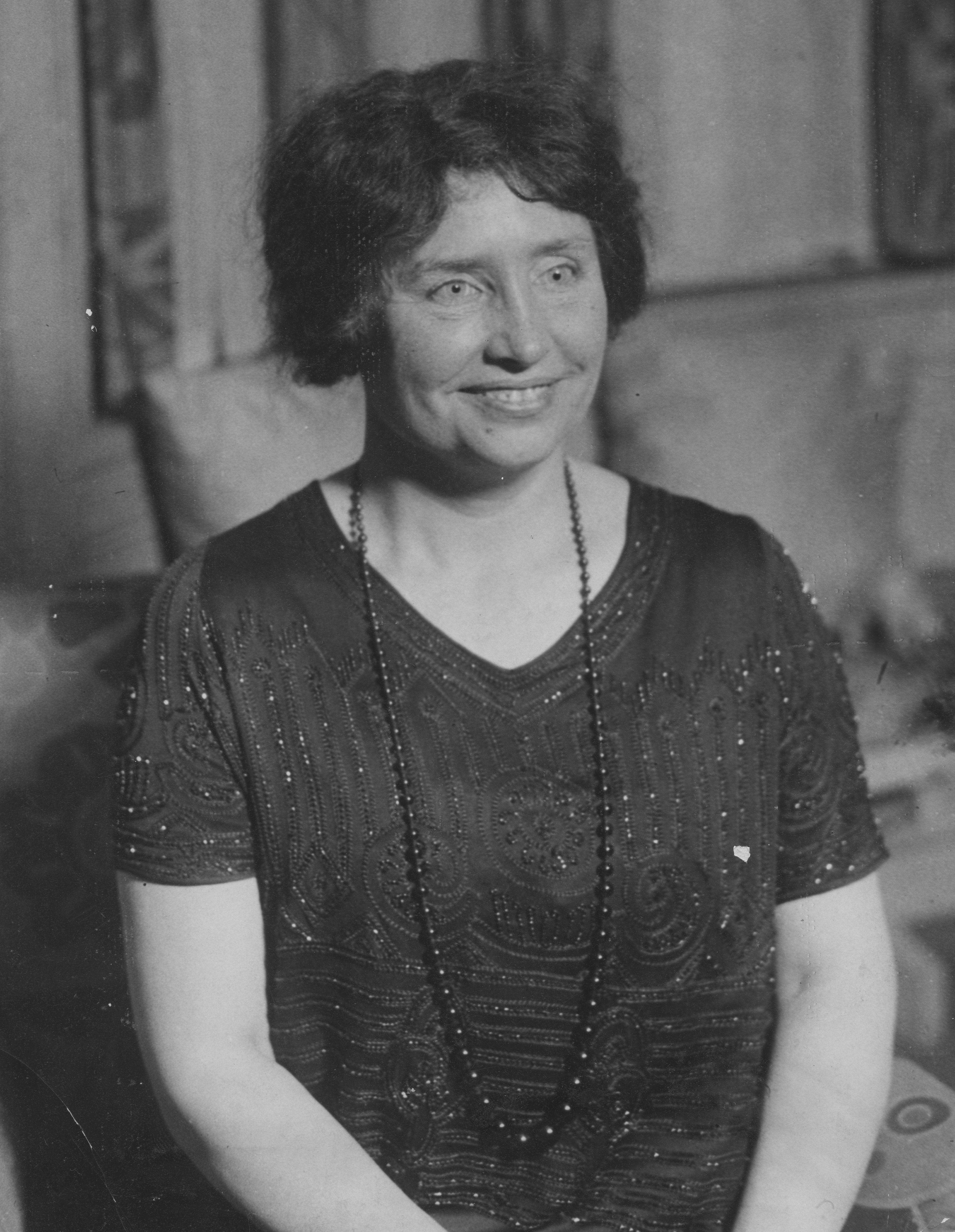 Biography Of Helen Keller Deaf And Blind Spokesperson And