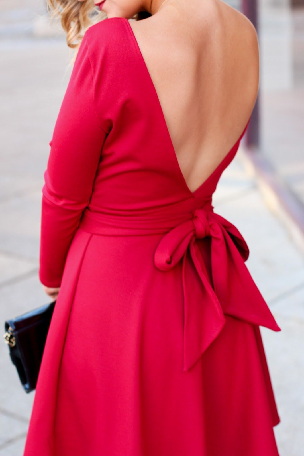 Red holiday dress wear pin up jackie oh pinterest