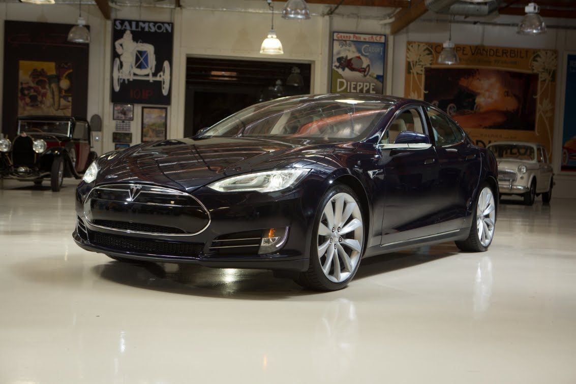 Tesla model s this car is all electric and depending on the model purchased can