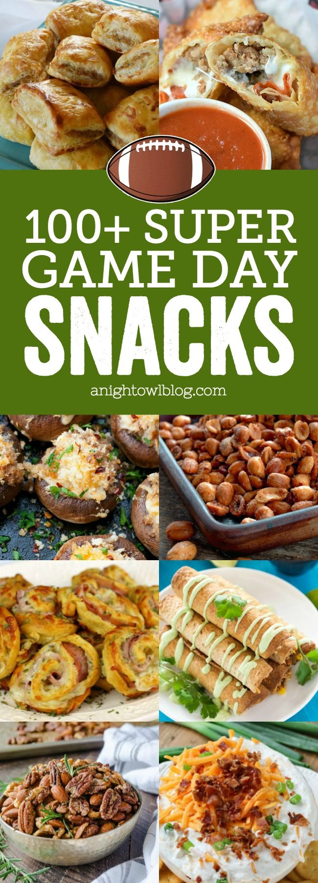 100+ Super Game Day Snacks