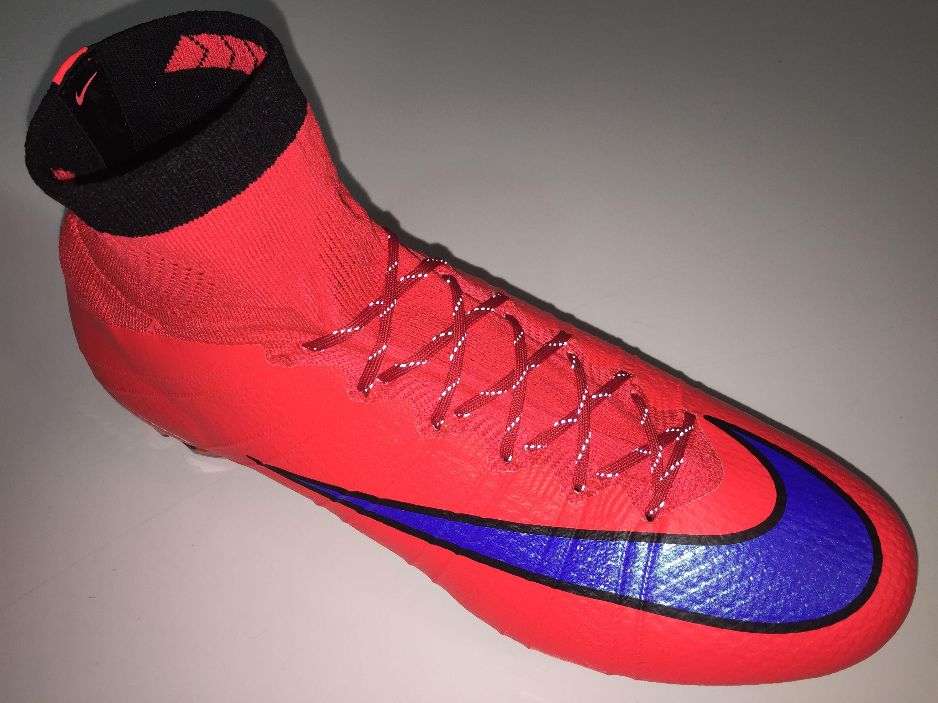 SR4U Reflective Laces Red | Soccer