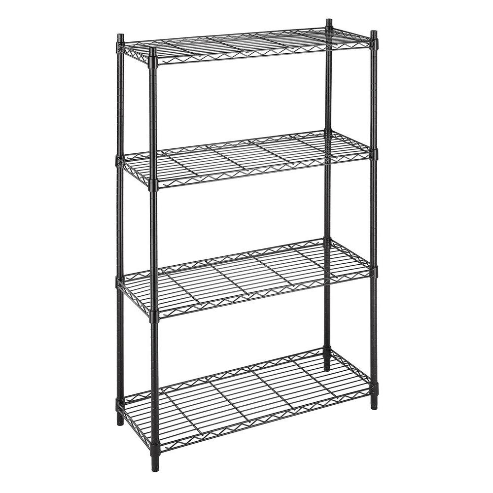 Whitmor Deluxe Rack Collection 36 In X 54 In Supreme 4 Tier Wire