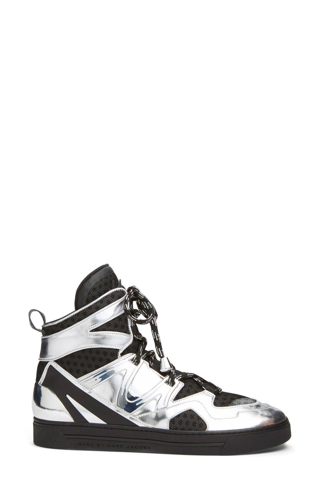 MARC BY MARC JACOBS 'Tech Ninja' High Top Sneaker (Women