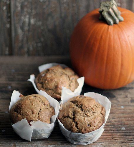Oh my. Brown butter pumpkin muffins