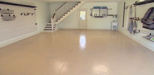 Demonstration Of Quikrete Epoxy Garage Floor Coating System The Advantages And Lication