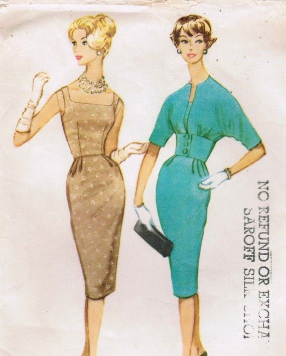 Vintage Dress Patterns | mccalls 5315 vintage jacket and dress ...