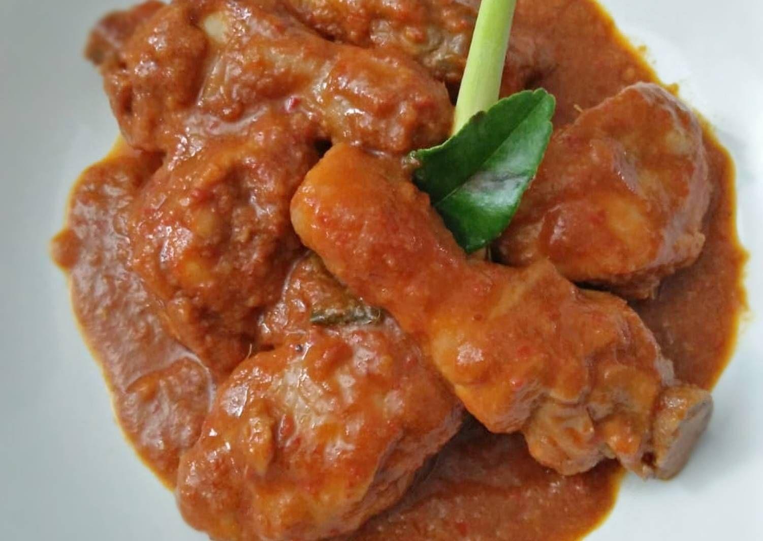 Resep Ayam Bumbu Merah Oleh Pitraratri Resep Resep Ayam Resep Ayam