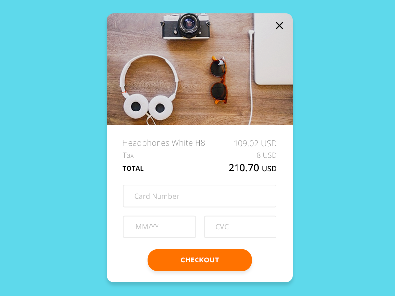 Daily UI Credit Card Checkout