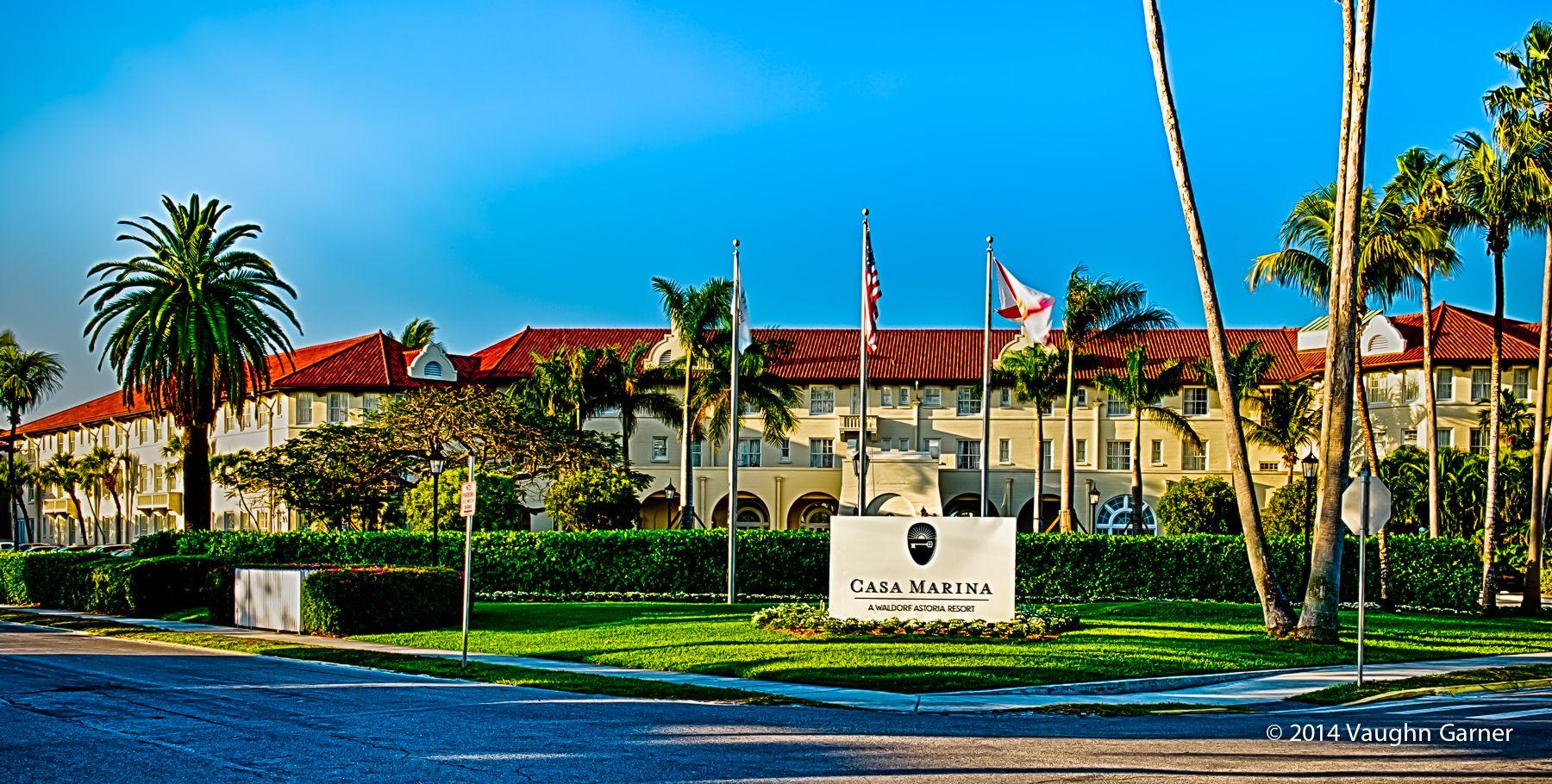 """Casa Marina"" Henry Flagler built a luxury hotel for his"