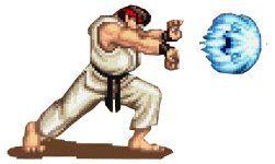 Hadouken Fireball From Street Fighter Ii Ryu Street Fighter Street Fighter Ryu Hadouken