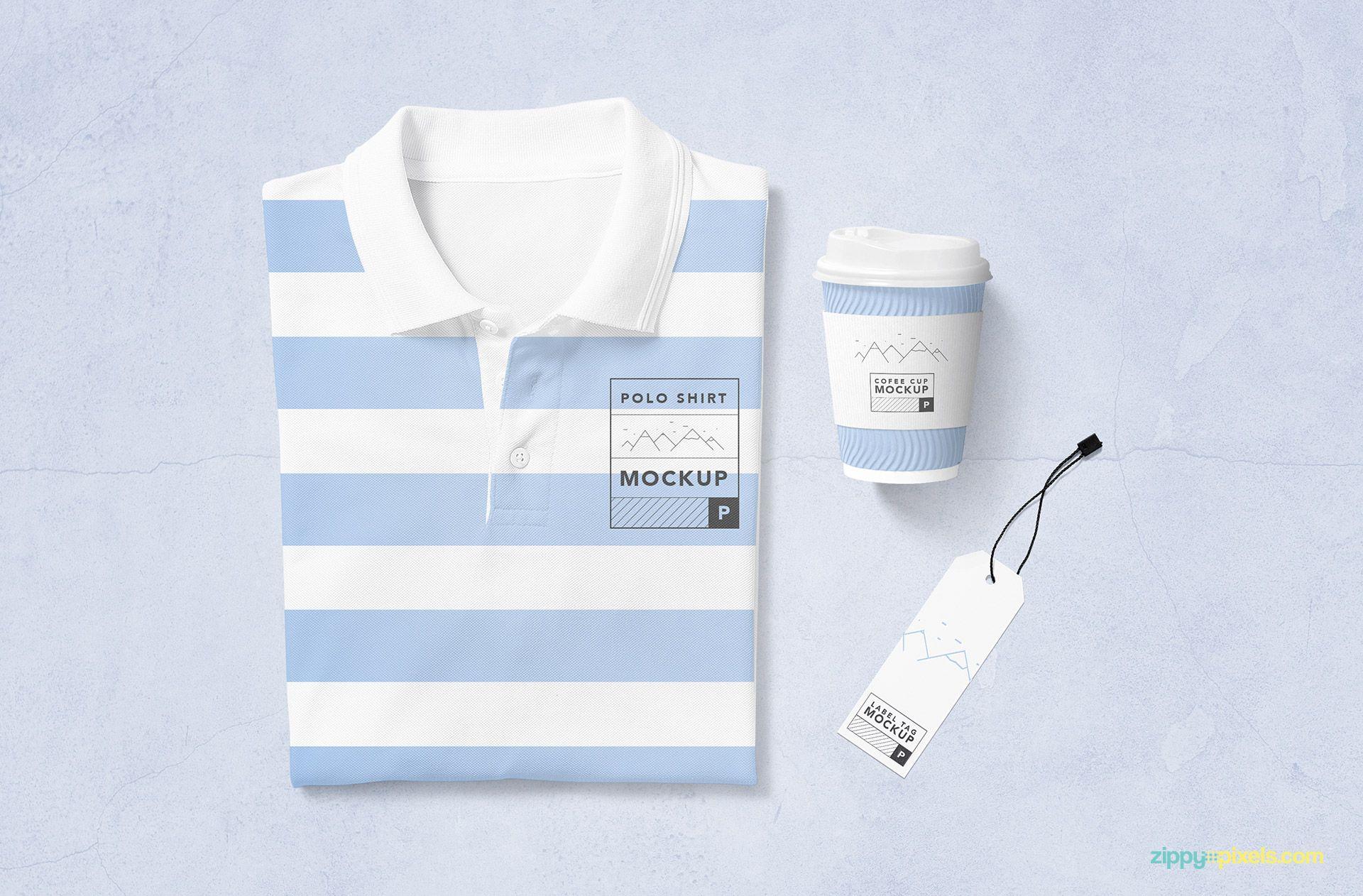 Download Free Modern Polo T Shirt Mockup Zippypixels Shirt Mockup Tshirt Mockup Clothing Mockup