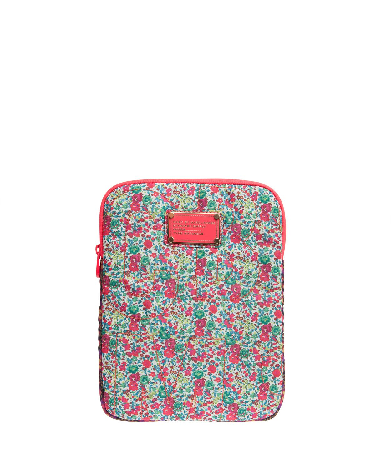 Emma and Georgina Liberty Print Pretty Nylon Tablet Case, Marc by Marc Jacobs x Liberty. Shop more accessories form the Marc by Marc Jacobs x Liberty collection online at Liberty.co.uk