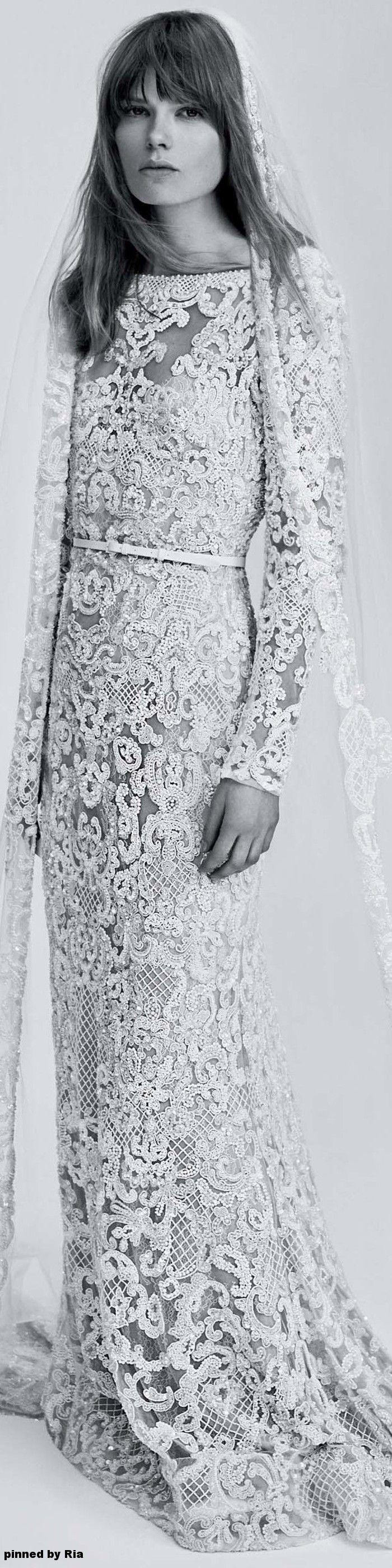 Elie saab bridal spring l ria wedding dresses pinterest
