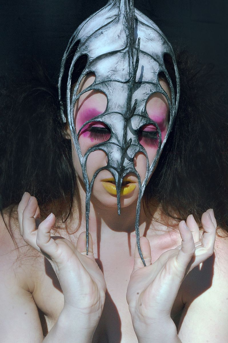 Photographer: Christa Dickson Designer: Nika Danielska Hair/Makeup: Jesse Luxe Model: Ramona Recluse