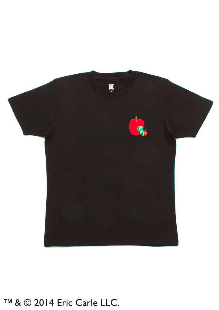 07871f7a7 Eric Carle (Red Apple Embroidery) – Design Tshirts Store graniph ...