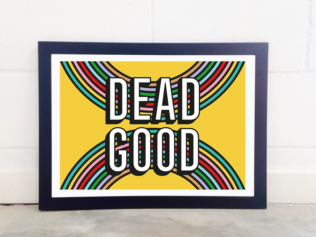 Dead Good II | Buy prints online, Colorful wall art and Framed art ...