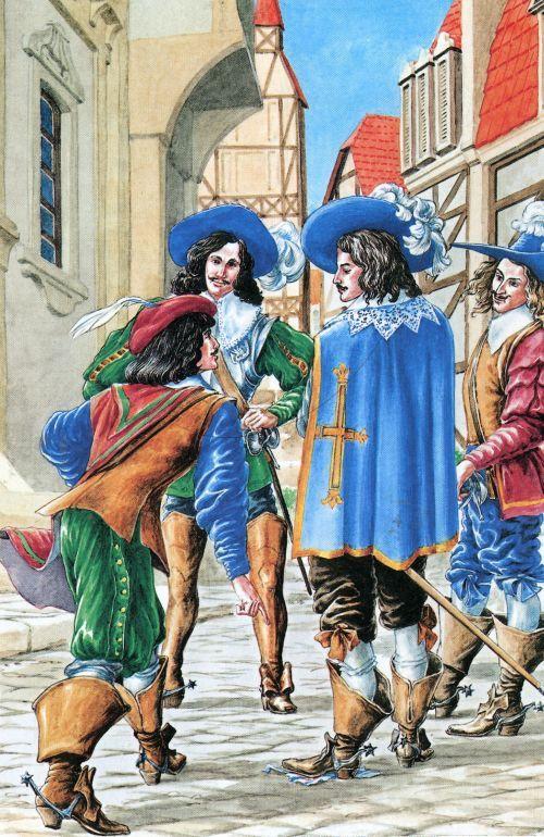 Открытки к трем мушкетерам