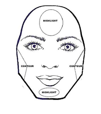 How To Contour Your Face Mandy Shares Life Diamond Face Shape Contouring And Highlighting Contour Makeup