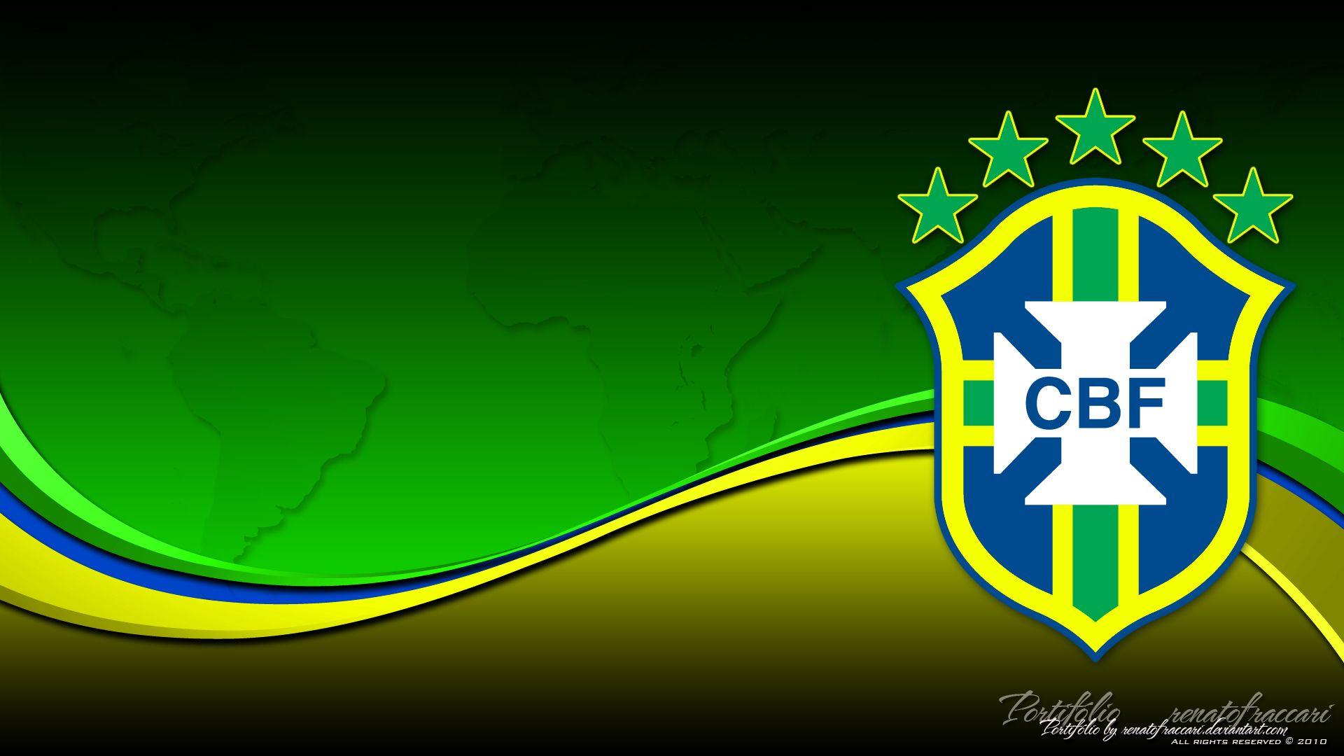 Brasil Cbf Wallpaper Colors Brazil Football Team Football Team Logos Team Wallpaper