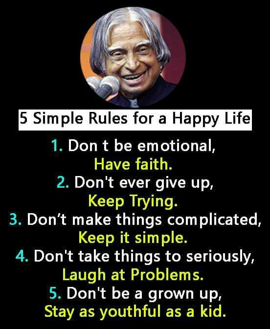 Useful thoughts of life (With images) Apj quotes, Life