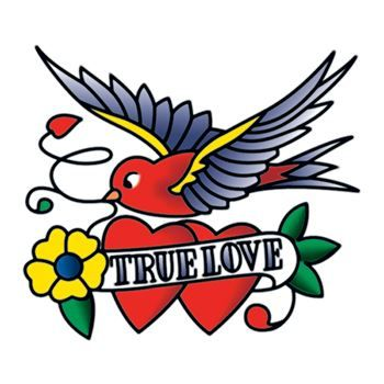 True Love Temporary Tattoo | Tattoo Sales