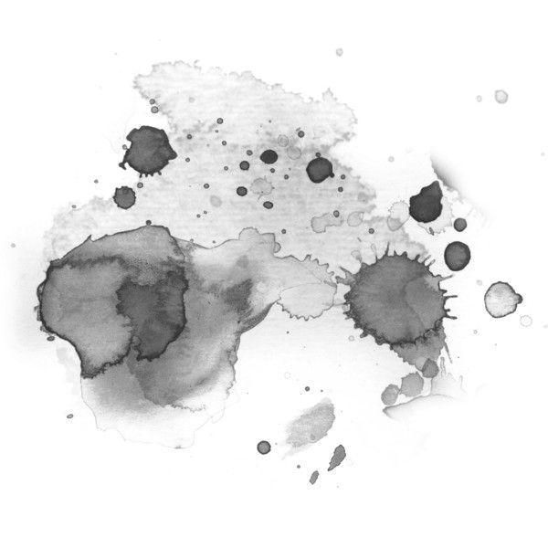 Watercolor Splashes Black White Liked On Polyvore Watercolor Splash Watercolor Background Watercolor
