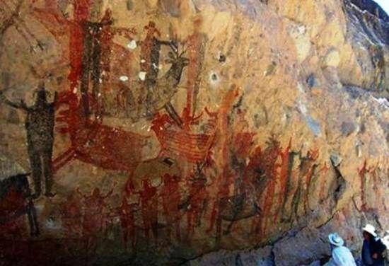 Pintura rupestre de Baja California